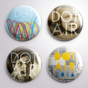 DOT Air: Promotional Buttons