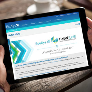 EcoSys Website Design Responsive Mobile About