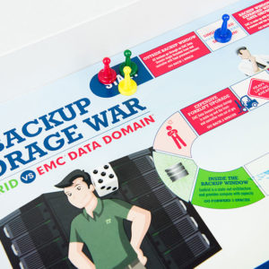 Exagrid Board Game Design Detail