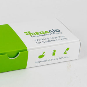 MegaAid Medication Mailer Package Design