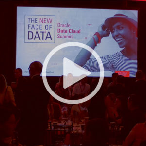 Oracle Data Cloud Data Summit Video